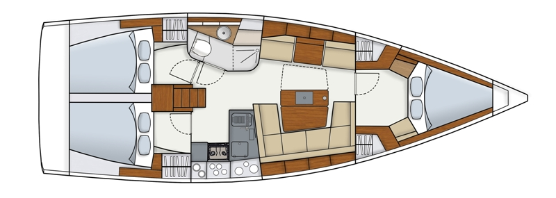 Navalia - Imbarcazione Hanse 415 11