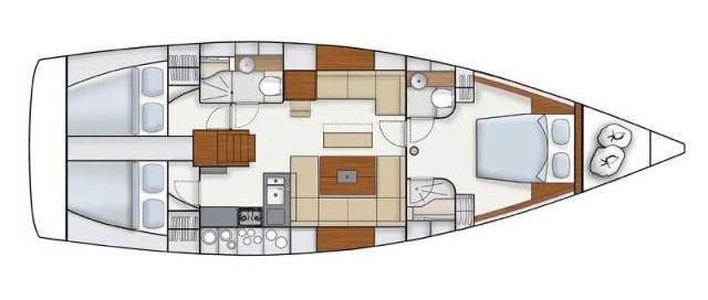 Navalia - Imbarcazione Hanse 445 12