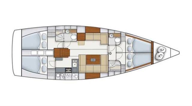 Navalia - Imbarcazione Hanse 445 11