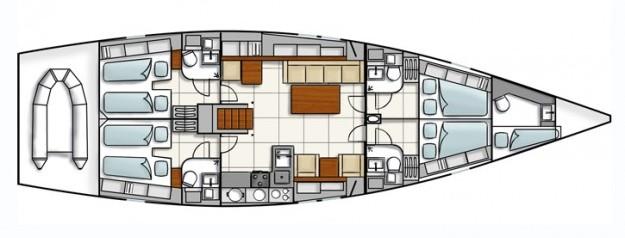 Navalia - Imbarcazione Hanse 545e 11
