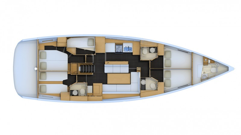 Navalia - Imbarcazione Jeanneau 54 13