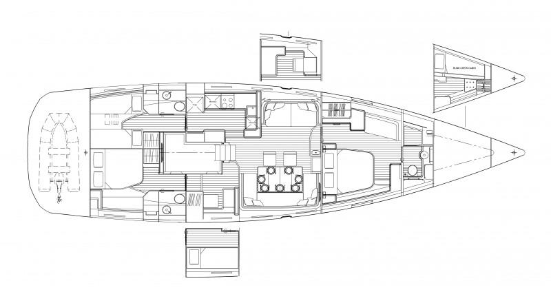 Navalia - Imbarcazione Jeanneau 64 16