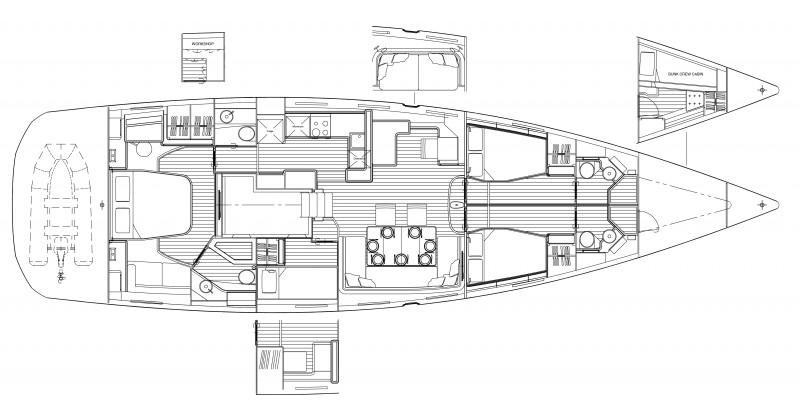 Navalia - Imbarcazione Jeanneau 64 17