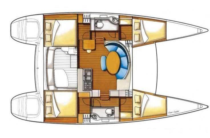Navalia - Imbarcazione Lagoon 380 10