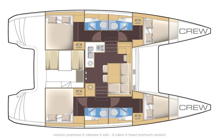 Navalia - Imbarcazione Lagoon 39 13