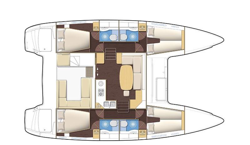 Navalia - Imbarcazione Lagoon 400 11
