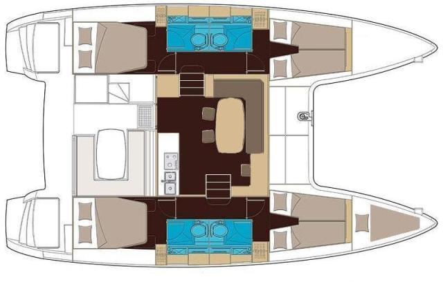 Navalia - Imbarcazione Lagoon 400 10