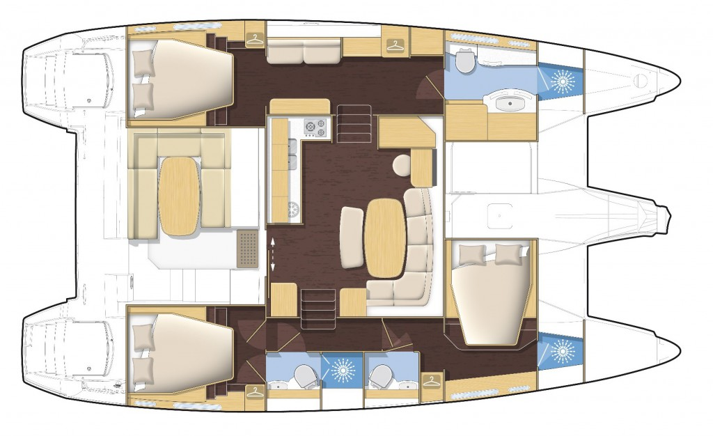 Navalia - Imbarcazione Lagoon 421 12