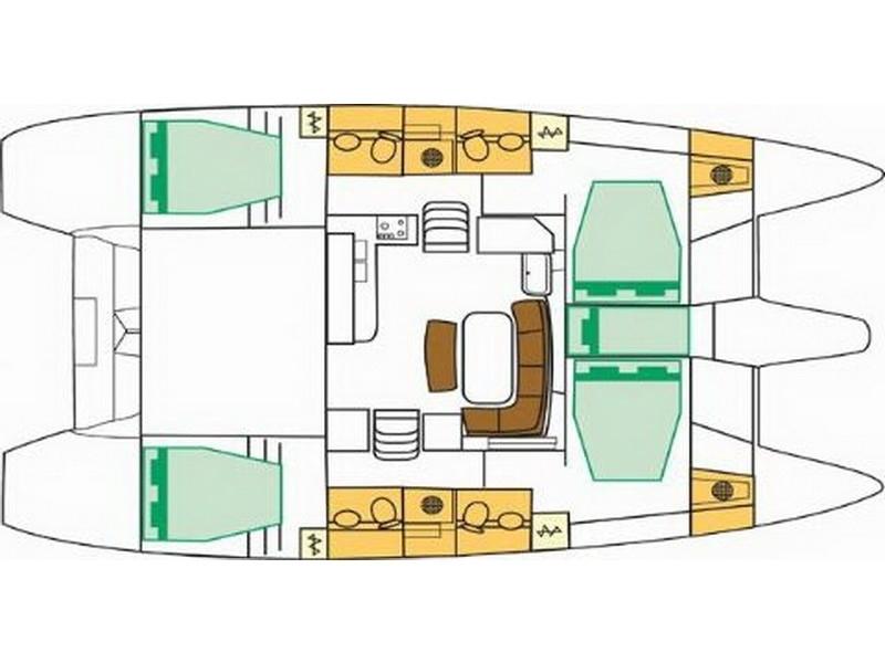 Navalia - Imbarcazione Lagoon 421 13