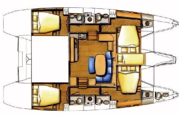 Navalia - Imbarcazione Lagoon 421 14