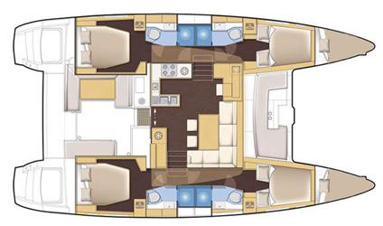 Navalia - Imbarcazione Lagoon 450 F Luxury 12