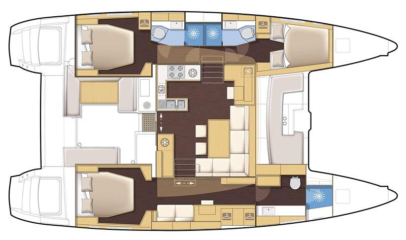 Navalia - Imbarcazione Lagoon 450S 12