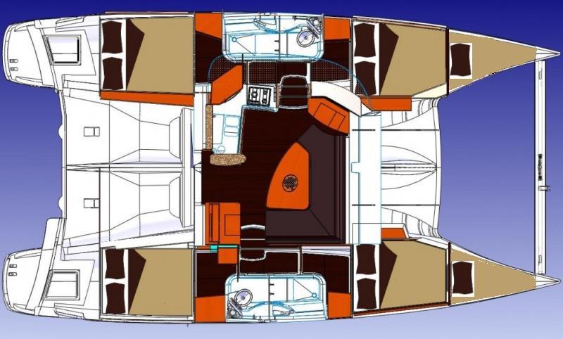 Navalia - Imbarcazione Lipari 41 – 6 cab. 13