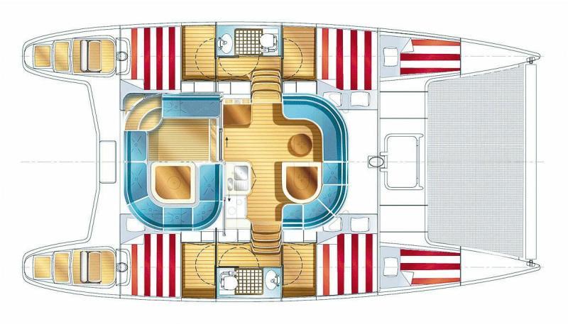 Navalia - Imbarcazione Nautitech 40 9