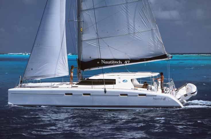 Navalia - Imbarcazione Nautitech 47 1