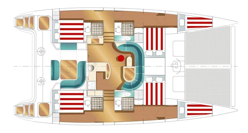 Navalia - Imbarcazione Nautitech 47 11