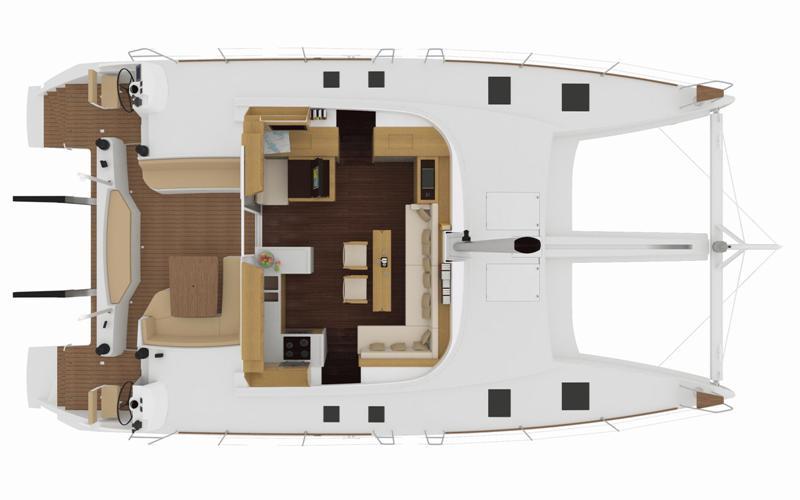 Navalia - Imbarcazione Nautitech 542 11