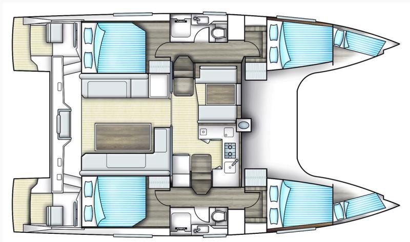 Navalia - Imbarcazione Nautitech 40 Open 13