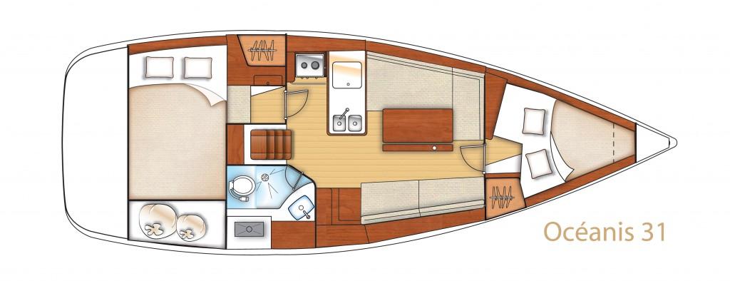 Navalia - Imbarcazione Oceanis 31 10
