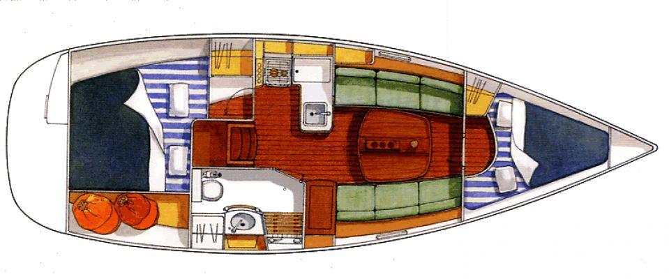 Navalia - Imbarcazione Oceanis 323 9