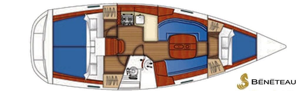 Navalia - Imbarcazione Oceanis 343 10