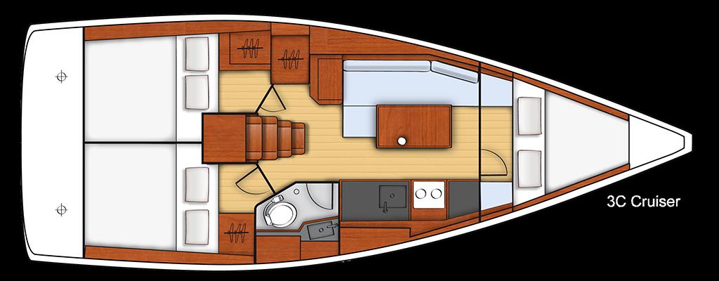Navalia - Imbarcazione Oceanis 35 13