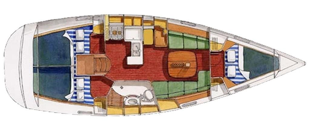 Navalia - Imbarcazione Oceanis 373 9