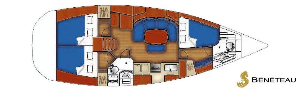 Navalia - Imbarcazione Oceanis 393 10