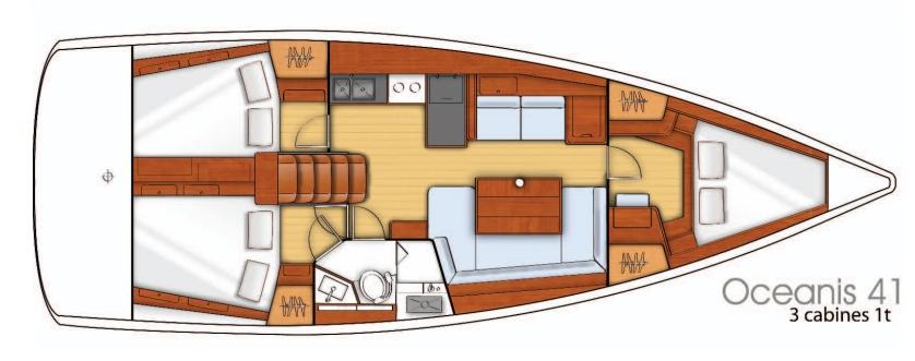 Navalia - Imbarcazione Oceanis 41 11