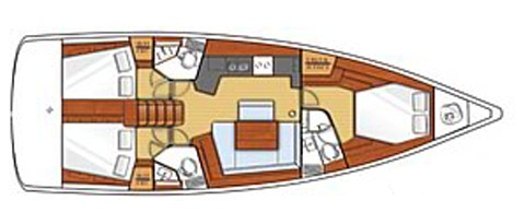 Navalia - Imbarcazione Oceanis 45 11