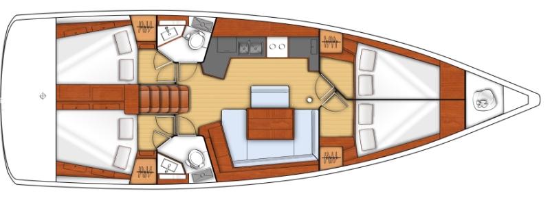 Navalia - Imbarcazione Oceanis 45 10