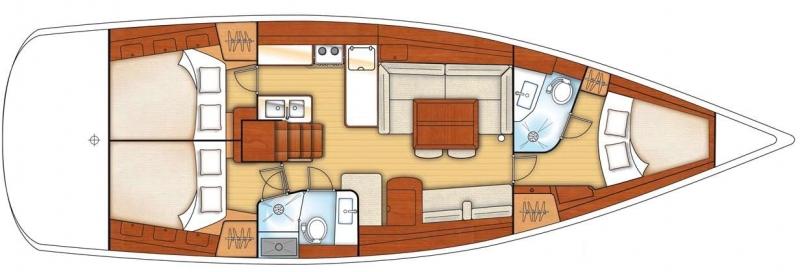 Navalia - Imbarcazione Oceanis 46 11