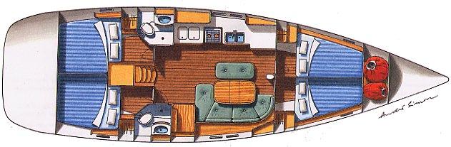 Navalia - Imbarcazione Oceanis 473.3 11