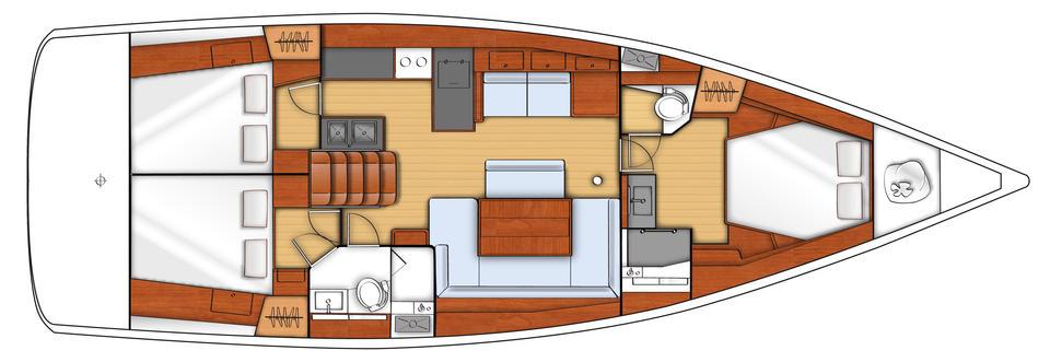 Navalia - Imbarcazione Oceanis 48 11