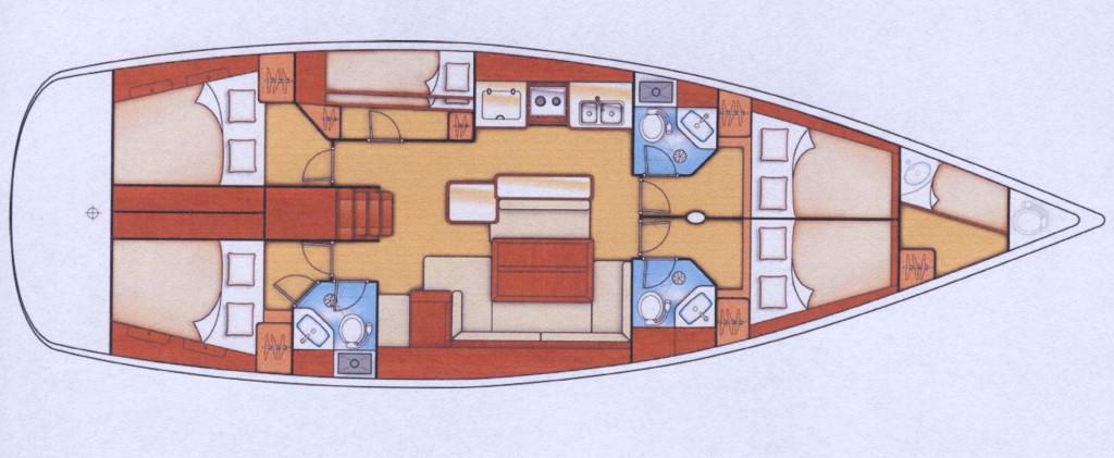 Navalia - Imbarcazione Oceanis 50 11