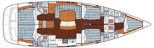 Navalia - Imbarcazione Oceanis 523 11
