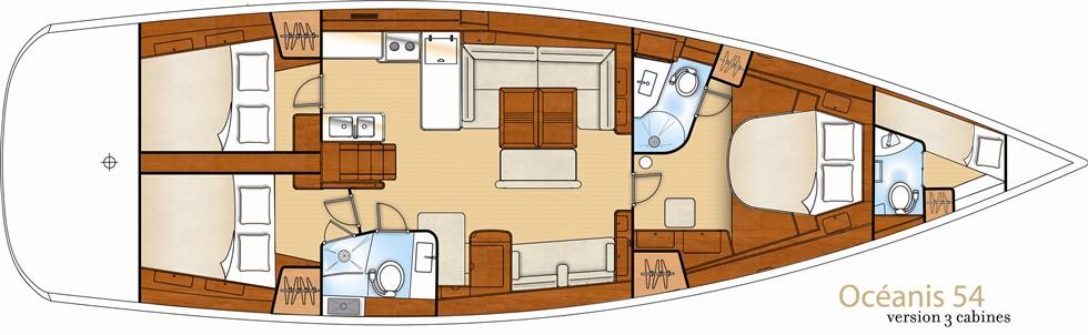 Navalia - Imbarcazione Oceanis 54 11