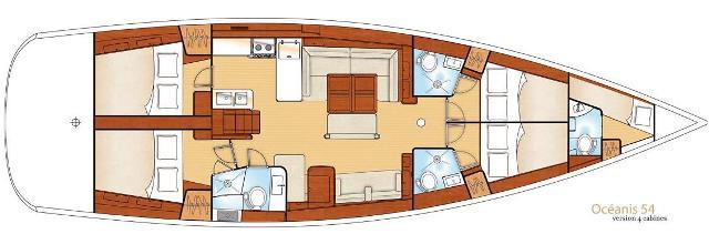 Navalia - Imbarcazione Oceanis 54 12