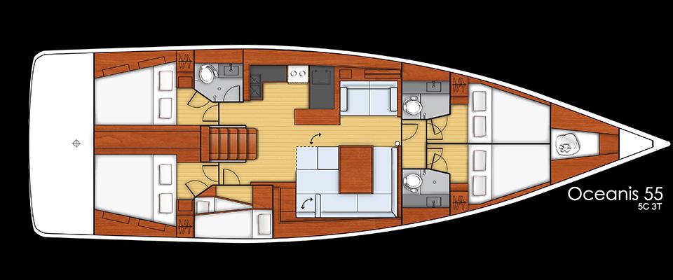 Navalia - Imbarcazione Oceanis 55 17