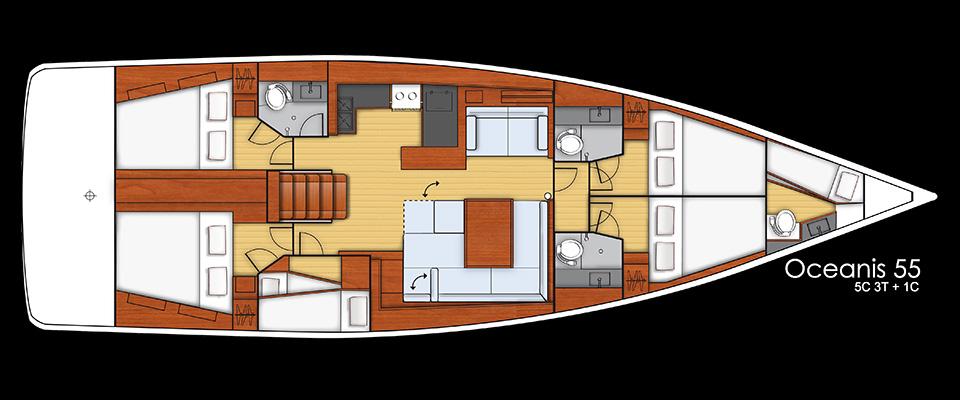 Navalia - Imbarcazione Oceanis 55 18