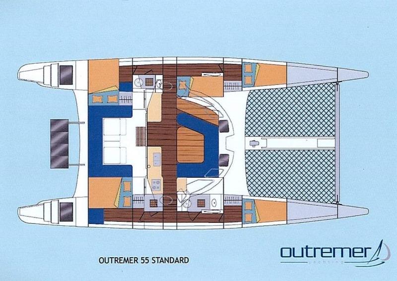 Navalia - Imbarcazione Outremer 55 13