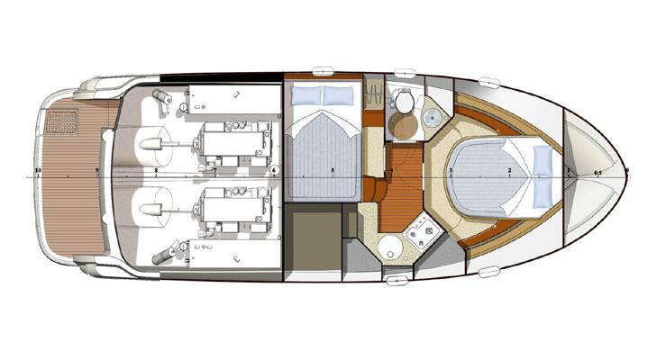 Navalia - Imbarcazione Prestige 32 Fly 10