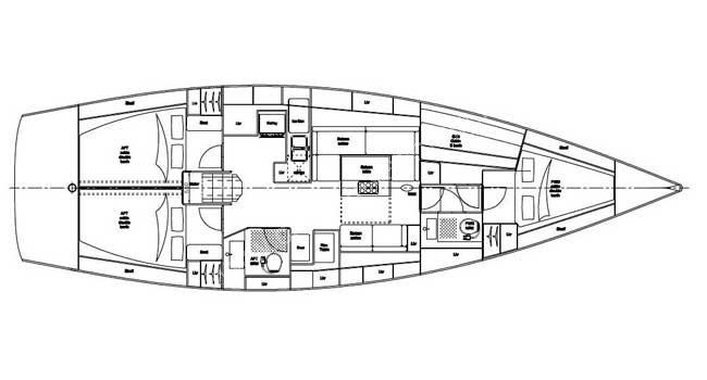 Navalia - Imbarcazione Salona 44 10