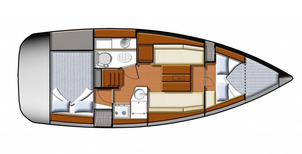Navalia - Imbarcazione Sun Odyssey 30i 9