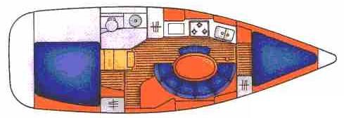 Navalia - Imbarcazione Sun Odyssey 342 9