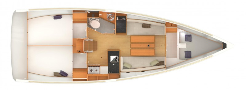 Navalia - Imbarcazione Sun Odyssey 349 14