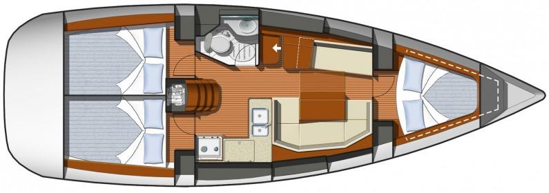 Navalia - Imbarcazione Sun Odyssey 36i 9