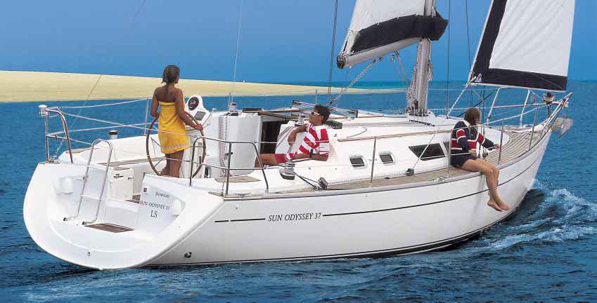 Navalia - Imbarcazione Sun Odyssey 37 1