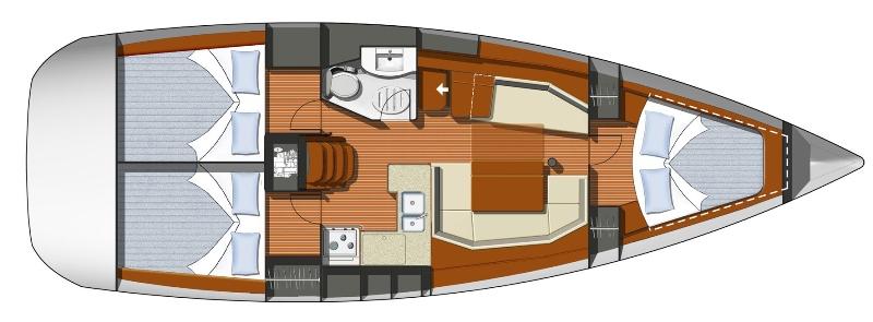 Navalia - Imbarcazione Sun Odyssey 39i 10
