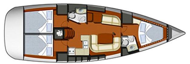 Navalia - Imbarcazione Sun Odyssey 42i 9